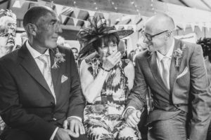 Brides Mum starts to cry when she see's her for the first time