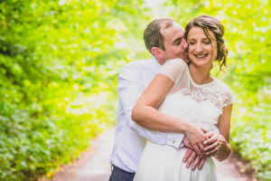New forest Wedding couple