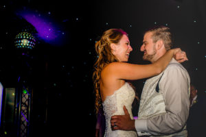 First dance at The Old Hall Wedding