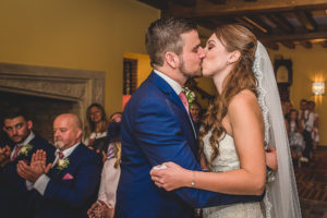 Indoor Wedding ceremony at The Old Hall in Ely