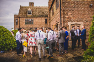 Wet August Wedding at The Old Hall in Ely