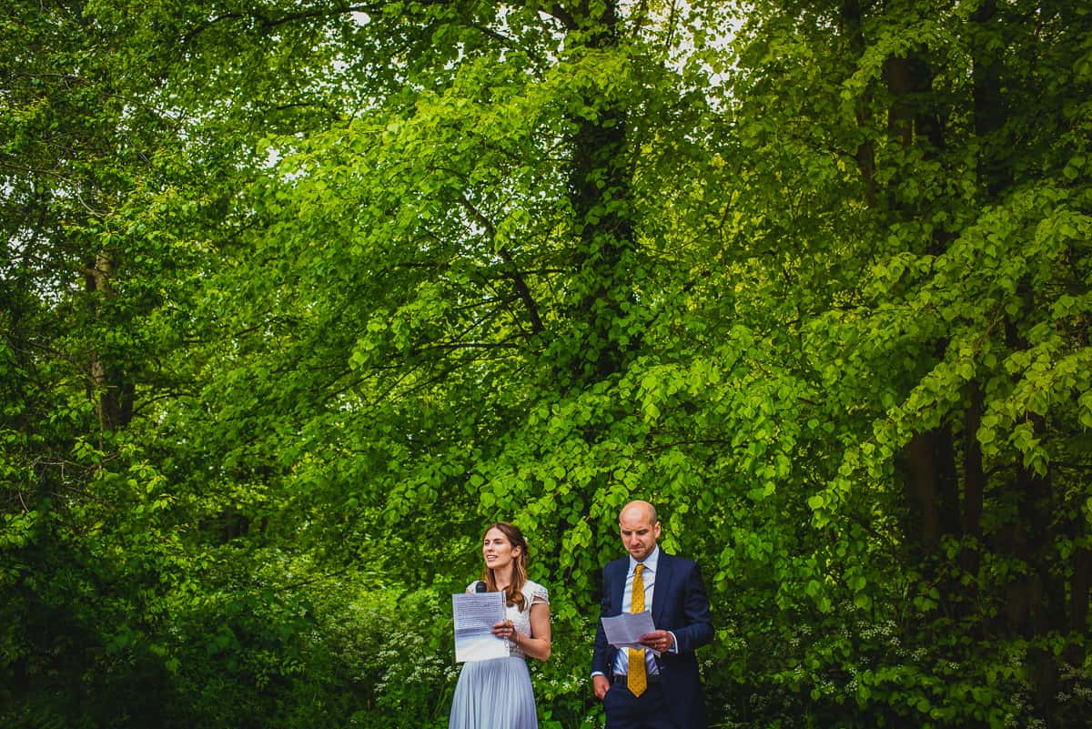 Wedding speeches to guests at reception at The Swan pub in Eye, Suffolk