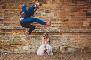5 Great reasons to have a photographer at a small wedding - photo by Damien Vickers Photography