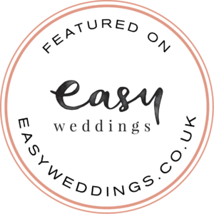 Featured on the Easy Weddings Blog