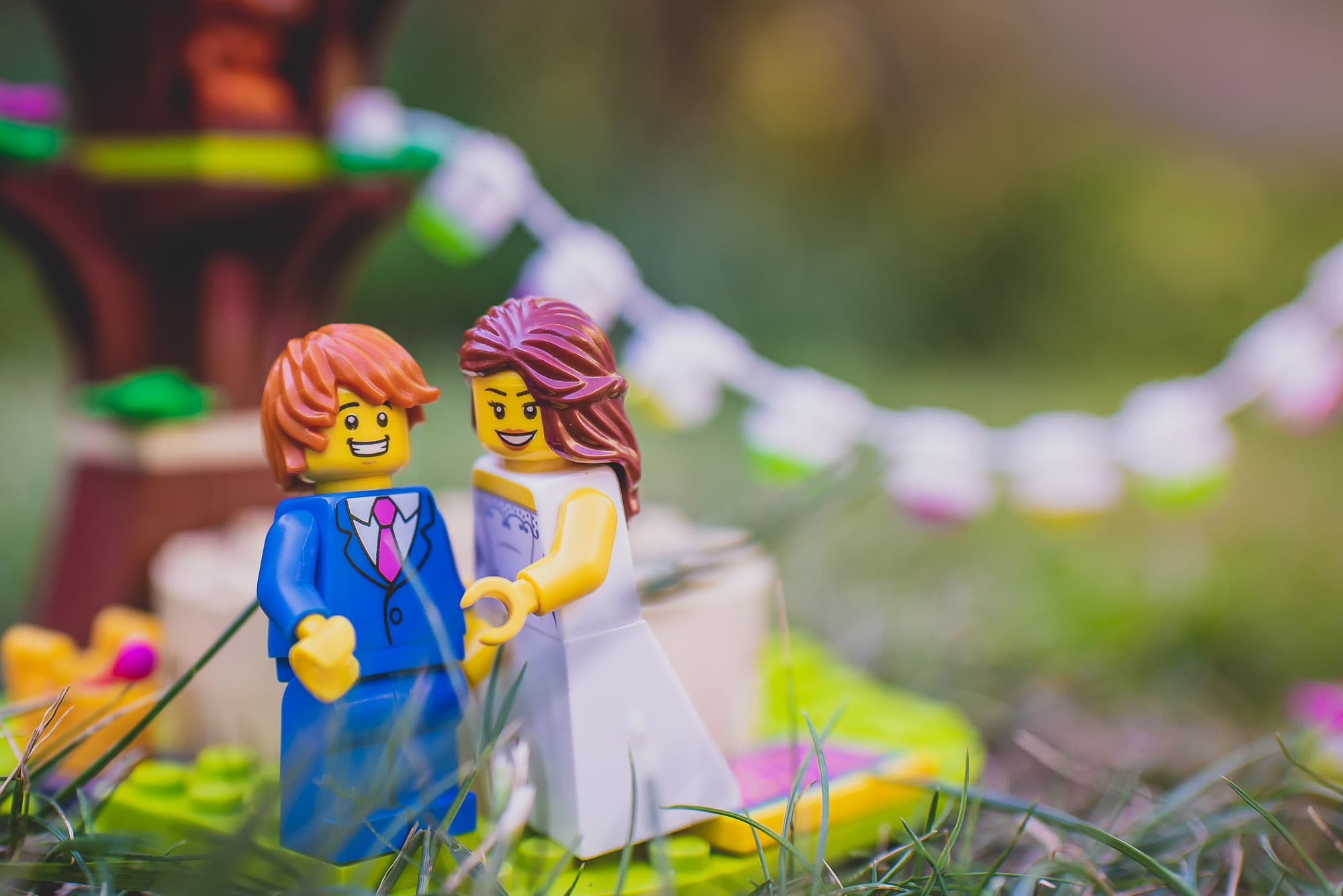 Boho Wedding Photographer | Festival Style Lego Wedding
