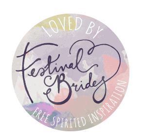 Featured on Festival Brides Blog
